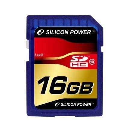 SILICON POWER Carte mémoire SD SDHC Class 10 - 8 Go
