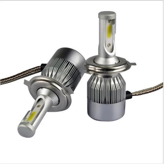 PHARES - OPTIQUES 2pcs Ampoule Halogène H7 Phare Voiture LED 3800Lm