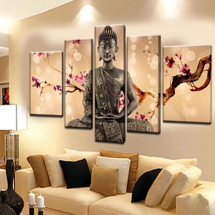 tableaux modernes pour salon great piece noir et rouge salon moderne grand tableau toile. Black Bedroom Furniture Sets. Home Design Ideas