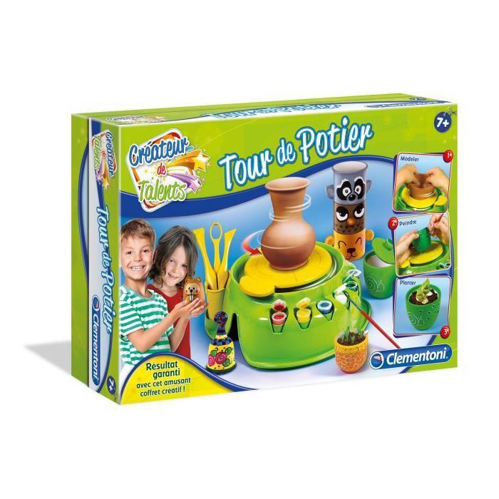 Clementoni tour de potier loisirs cr atif achat vente jeu de p te modeler cdiscount - Loisirs creatifs pour enfants ...
