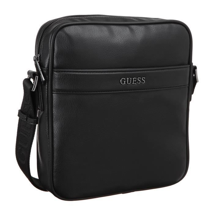 GUESS Sacoche NoirHomme - Achat / Vente sacoche