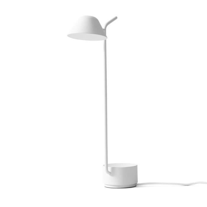H52cm Bureau Par Lampe De MenuDesigné Peek Orientable Blanc Led T1clFK3uJ