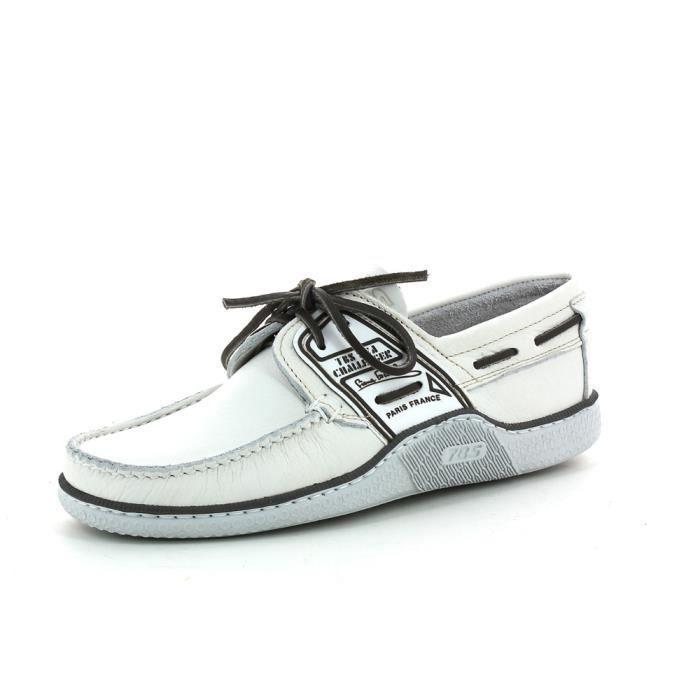 50fecab1014 Chaussures de ville TBS Globek Blanc Blanc - Achat   Vente mocassin ...