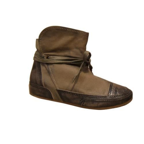 Boots femmes FEMME PLUS kaki