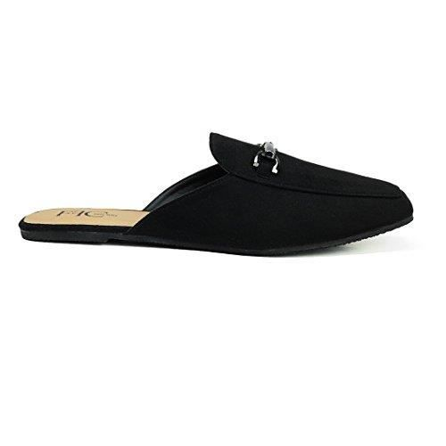 Sandie Slip On microsuède, Mulets Casual MNA1X Taille-39