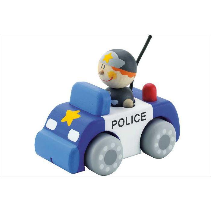 jouet voiture de police en bois sevi achat vente voiture camion cdiscount. Black Bedroom Furniture Sets. Home Design Ideas