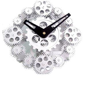 Horloge murale engrenage achat vente horloge murale engrenage pas cher cdiscount - Horloge avec mecanisme apparent ...