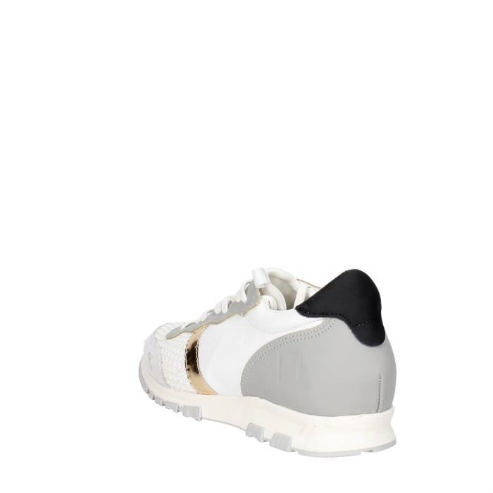 D.a.t.e. Sneakers Homme Blanc, 37