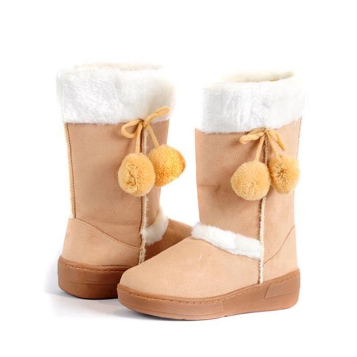 bottes de neige d'hiver des bottes en caoutchouc cheville marque hommes de mode chaussures d'hiver pas cher femmes bottes