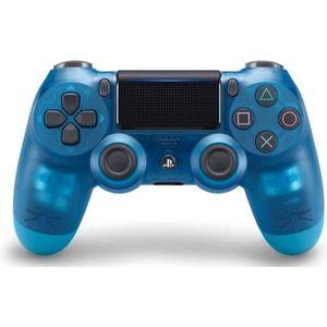 MANETTE JEUX VIDÉO Manette DualShock 4 Crystal Blue