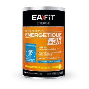 BOISSON ÉNERGÉTIQUE EAFIT Boisson Energétique +3H - Citron - 500 g