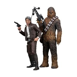 FIGURINE - PERSONNAGE Pack 2 statuettes Star Wars Episode VII : Han Solo