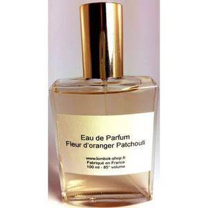 EAU DE PARFUM Eau de parfum Fleur d'oranger patchouli 100 ml