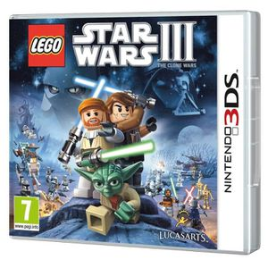 JEU 3DS Lego Star Wars 3 : The Clone Wars 3DS