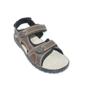 Sandales Homme Sandales Cuir Sandales Marro Velcro Cuir Velcro Velcro Homme Homme Cuir Marro QhdrstC