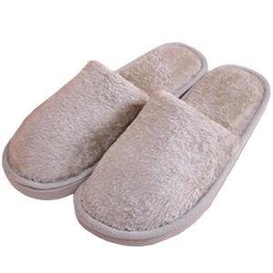 CHAUSSON - PANTOUFLE Oasap Homme Chaussons Antidérapage Bout Rond, Gris