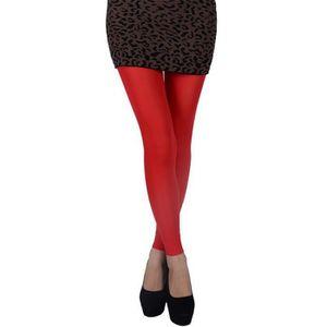 COLLANT EOZY Collant Sexy Femme Bas Leggings Élastique Rou