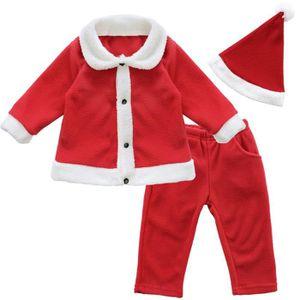 c6030ac0680d1 DÉGUISEMENT - PANOPLIE Déguisement Père Noël bébé Ensemble de Vêtement Bé