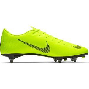 CHAUSSURES DE FOOTBALL NIKE FOOTBALL NEWS JAUNE VAPOR 12 SG PRO ADULTE 20