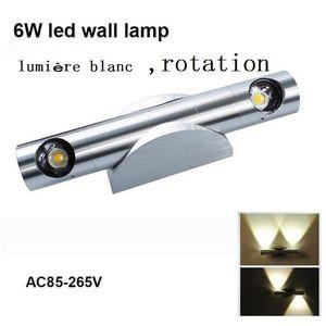 APPLIQUE  6W LED Lampe Applique murale intérieur avec Lumièr