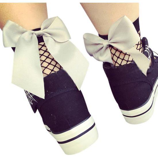 Beguinstore® Chauffe femme tricot sport chaussettes de yoga botte de couverture blanc_poi455 Gris Gris - Achat / Vente botte