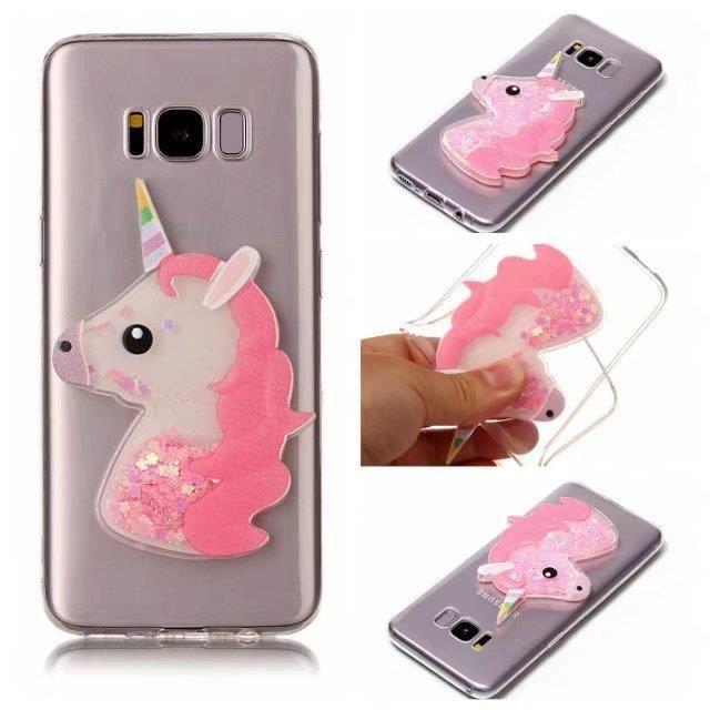 coque iphone x rose pale