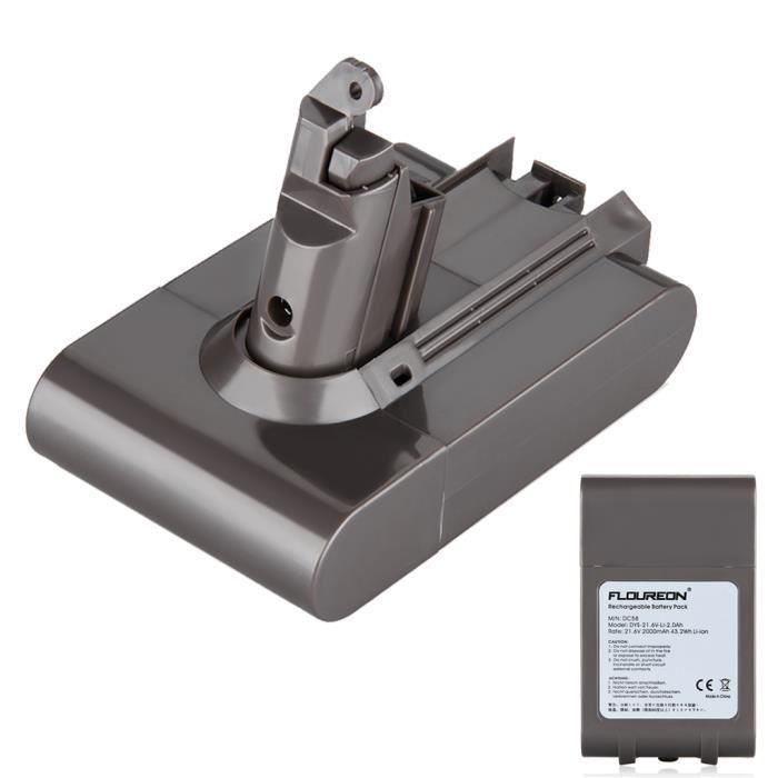 ENTRETIEN ÉLECTRICITÉ FLOUREON Batterie d'aspirateur de remplacement pou