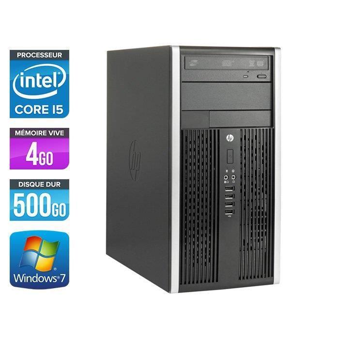 UNITÉ CENTRALE  HP Elite 8200 Mini-Tour-Core i5-2400 3,1GHz -500Go