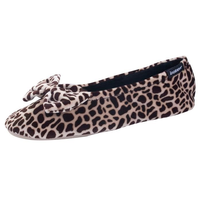 CHAUSSON - PANTOUFLE Chaussons FEMME Velours - grand noe