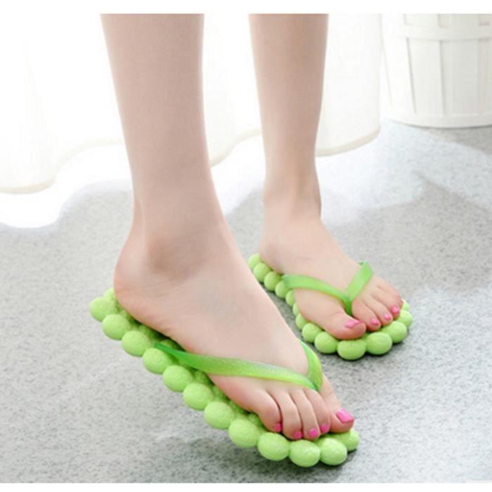 wholesale dealer c3334 6a051 TONG Mode d été Femmes Casual tongs Chaussons Chaussure