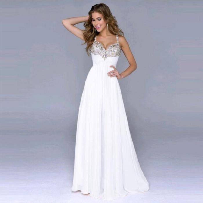 19538add543 Kingwing® Mode banquet robe élégante la mariée vin rouge dentelle fleur  perles longues robes de soirée sur mesure
