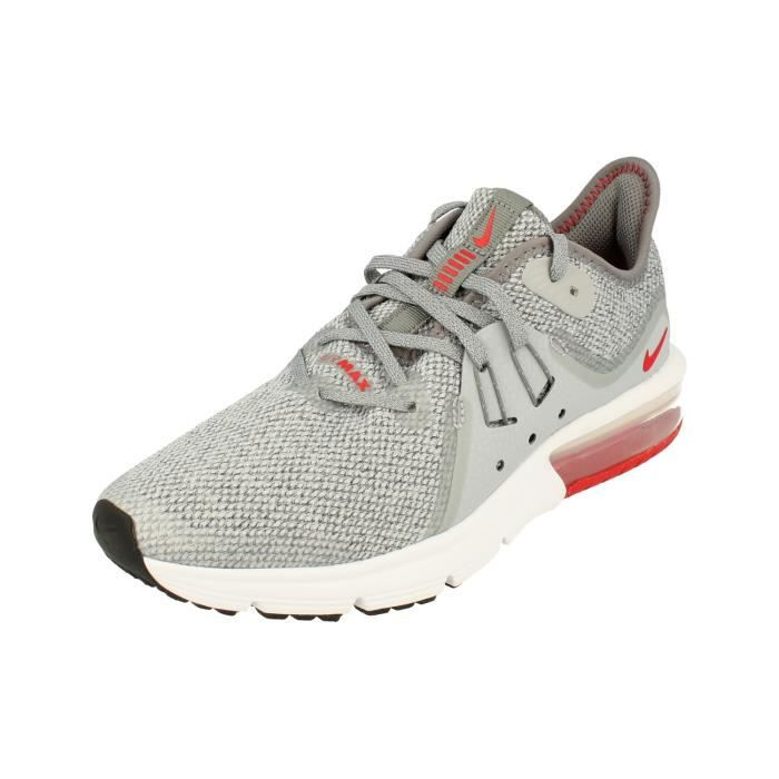 Nike Chaussures Air Max Sequent 3 (GS) NoirBlancOr Taille