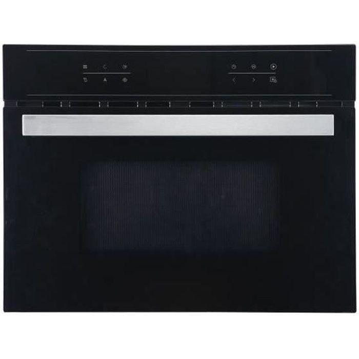 Sharp Km 4403b Micro Ondes Combiné Grill Encastrable Noir 44l 900w Gril 600w Puissance Du Four 1700w