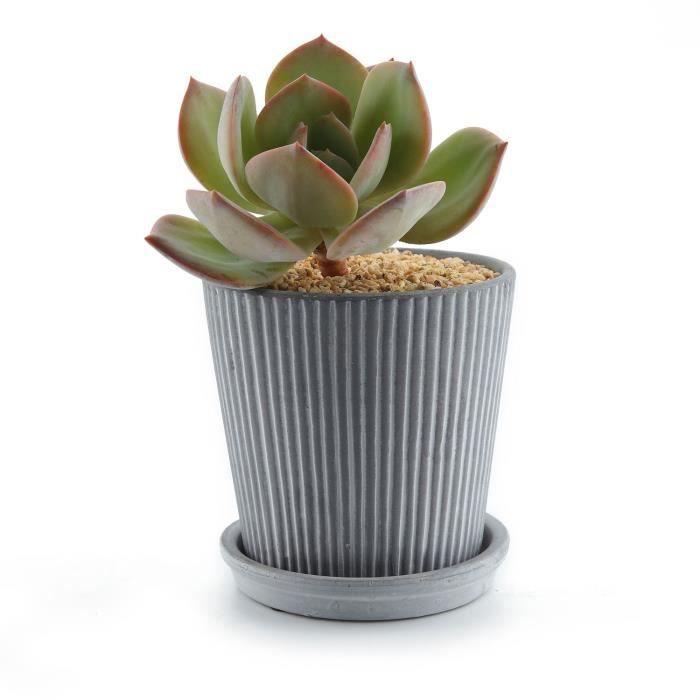 pot de fleur a motif achat vente pot de fleur a motif pas cher cdiscount. Black Bedroom Furniture Sets. Home Design Ideas