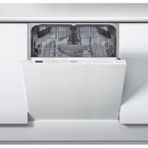 Lave-vaisselle tout intégrable - Capacité : 14 couverts - Classe énergie A++ - Niveau sonore : 46dB - Classe lavage/séchage : A/A - Moteur induction - 8 programmes - Option PowerClean Pro - Affichage digital - Départ différé 12h - Panier supérieur réglabl