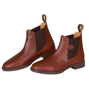 BOTTES - BOOTS ÉQUESTRE COVALLIERO Boots d'équitation cuir classic - Brun