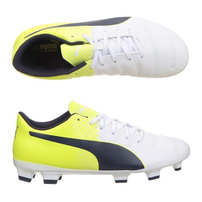 PUMA Chaussures Football terrain sec pour homme Evopower 4.3 FG AH16 - Blanc 2741fbe77c7