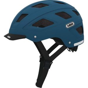 ABUS Casque de vélo urbain Hyban Bleu pétrole