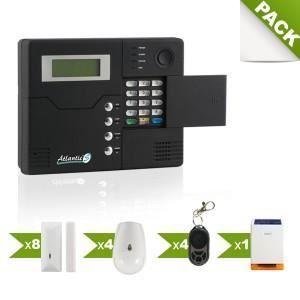 KIT ALARME Alarme sans fil GSM Atlantic'S ST-V - Kit 9