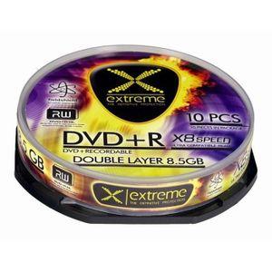 RANGEMENT CD-DVD DVD + R DOUBLE COUCHE EXTRÊME DE LA BOÎTE [GÂTEAU