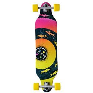 SKATEBOARD - LONGBOARD MAUI Longboard Bulls Eye - 99 x 23 cm