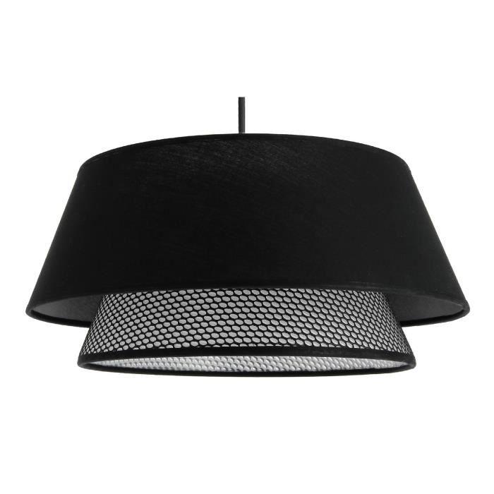 Suspension Gregoire - E27 - Noir