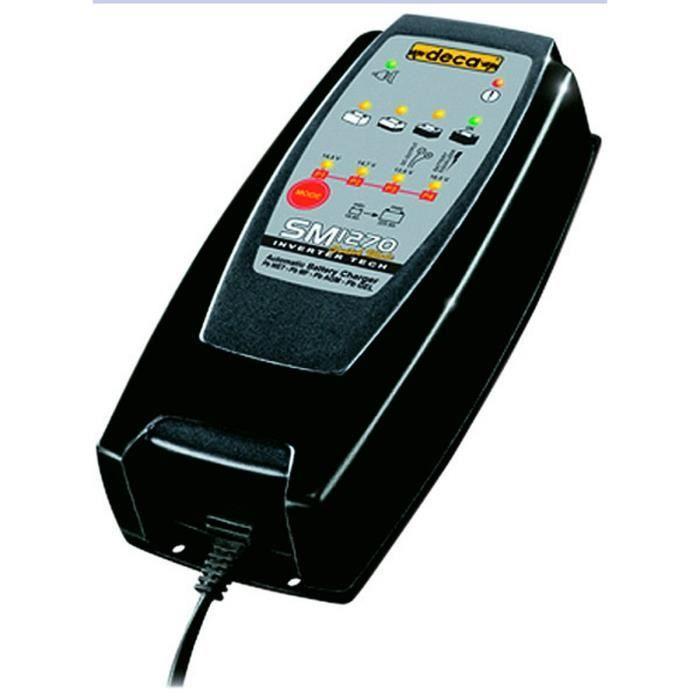 DECA Chargeur de Batterie jusqu'à 225 Ah
