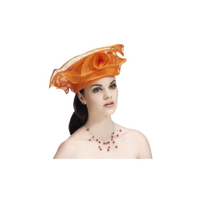 a9aaeb7baeeb7 Élégante coiffe pour femme en sisal - Fushia - … Rose - Achat ...