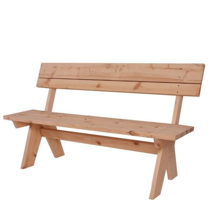 Banc de jardin en bois achat vente pas cher black for Banc de jardin en bois pas cher