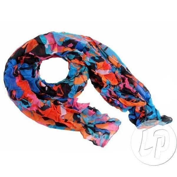 4f110c1aaea3 Foulard rectangle fluo sch-221 - Achat   Vente echarpe - foulard ...