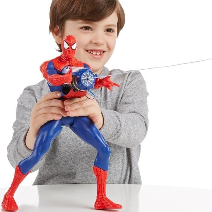 FIGURINE - PERSONNAGE SPIDERMAN Figurine Lance Fluide Geante