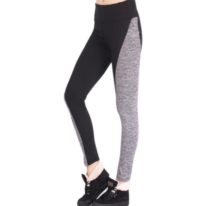 Femmes Taille haute Pantalons de course Pantalons maigres Leggings ... 3d309c7d01d