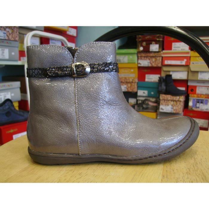 Chaussures enfants. Bottines filles LITTLE MARY P34