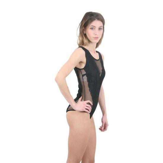 Body en dentelle Noir - Achat   Vente body - Cdiscount d7bc783af72